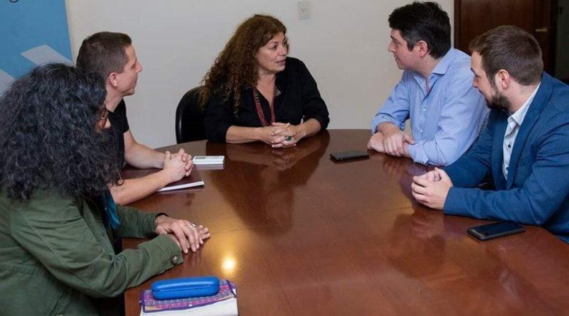 Pérez coordina acciones junto a la SEDRONAR
