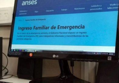 «ANSES» A partir de las 0 hrs. se podrá conocer quiénes pueden continuar el trámite para cobrar el Ingreso Familiar de Emergencia
