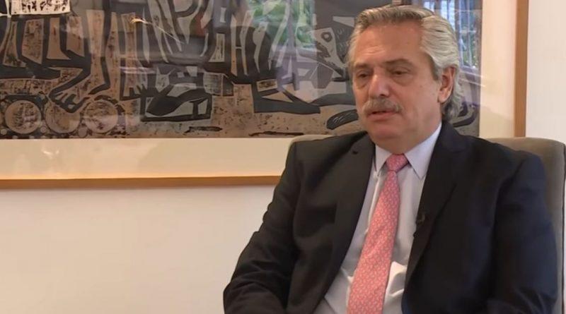 Alberto Fernández «Con la pandemia, la prioridad fue la salud»