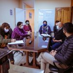 Gobierno y ATE mantuvieron una reunión para avanzar en los servicios de las 120 Viviendas