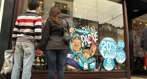 Las ventas por el Día del Padre cayeron 44% por el efecto cuarentena