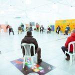 Melella dialogó con referentes de la mesa de trabajo Valle de Andorra sobre las obras para el sector