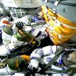 Arribaron astronautas chinos a la estación espacial en la misión tripulada más larga de ese país